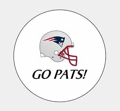 """New England Patriots """"Go Pats"""" Hershey Kiss Party Favors Stickers FREE shipping"""