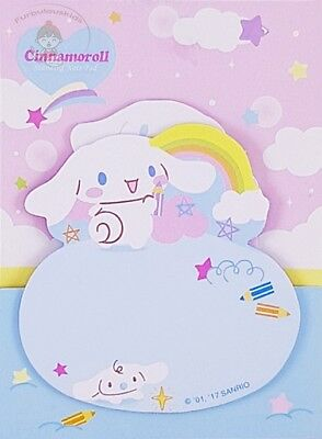 Sanrio Cinnamoroll Sticky Notepad/post-It 2 Designs = 30 Sheets In Total