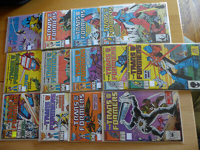 TRANSFORMERS 1984 MARVEL Comics # 4 11 16 19 22 23 25 26 28 30 32 33 34