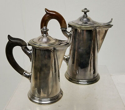 Antique Sheffield SIlver PLate Pitchers Creamers Hallmarked English Teapot