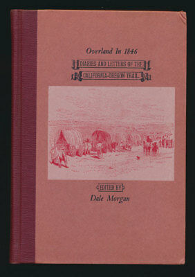 California Oregon Overland Trail + Maps 2-Volumes 1963 Limited Edition + Jackets