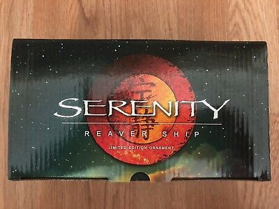 Serenity Limited Edition Reaver Ship Collectors Ornament/Figure- MINT CONDITION!
