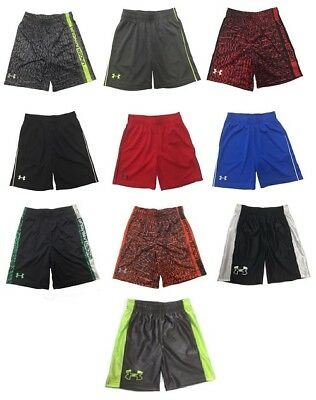 Brand NEW - Under Armour Little Boy's Shorts - Choose Size & Color  MSRP:$24.99