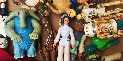 6,10 Vintage Original Kenner Star Wars Action Figure Grab Bag Lot 1977-1984 4