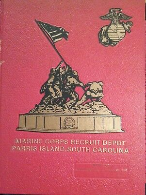 Nov 86 - Feb 87  Marine Corps Recruit Depot ParrIs Island South Carolina YR BOOK
