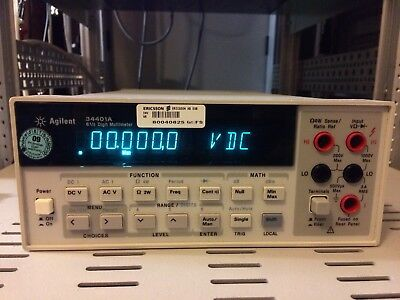 Agilent HP 34401A 6.5 Digit Multimeter 2 Wire 4 Wire KEYSIGHT