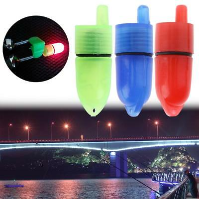 10pcs Clip Fishing Rod Tip LED Lights for Twin Bell Electric Bite Alarm Tackle