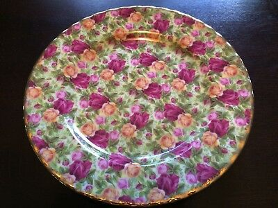 Royal Albert Old Country Roses Chintz Collection Accent Salad Plate