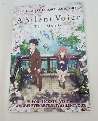 Promotional Card A Silent Voice Koe no Katachi Yoshitoki Oima