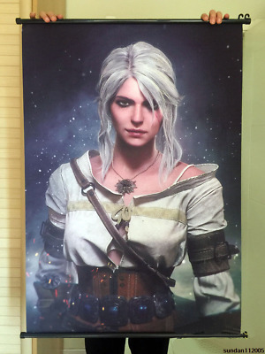 The Witcher 3 Ciri Home Decor Poster Wall Scroll Painting Poster Wall Scroll  40