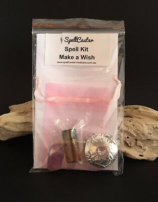 Make a Wish Spell Kit - Wicca Witch Magic
