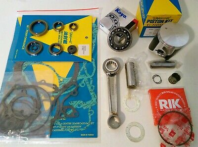 1992-1996 Suzuki RM125 Engine Rebuild Kit Con Rod Mains Piston Gaskets Seals