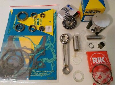 2000 Suzuki RM125 Engine Rebuild Kit Con Rod Mains Piston Gaskets Seals Mitaka