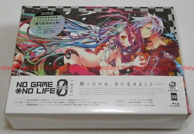 New No Game No Life Zero Limited Edition Blu-ray CD Booklet Japan F/S MFXM-0001