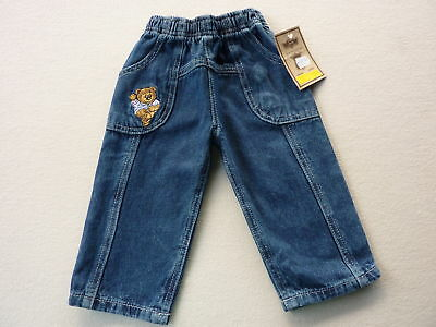 Baby Pants Toddler Trousers Jeans Elastic Waist Size 74 +86 Fun NEW