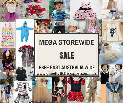 Online Store Business For Sale Baby Kids Clothes And Accessories