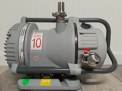 Edwards XDS10, Oil-Less, Scroll Vacuum Pump, 115/220 Volts AC *4 Month Warranty*