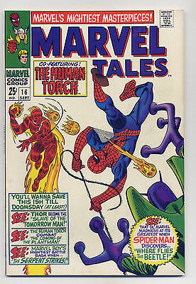 Marvel Tales #16 VF- 1968 Comic Book Reprint Spiderman Thor Stan Lee Ditko Kirby
