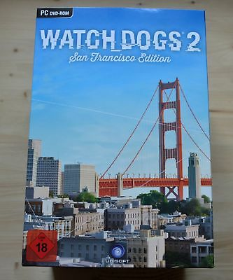 PC - Watch Dogs 2: San Francisco Collector´s Edition - OHNE SPIEL - (NEU & OVP)