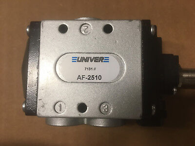New Electrovalves Univer Af-2510 Poppet 3/2 Nc  G1/4 - G3/8 Compressed Air