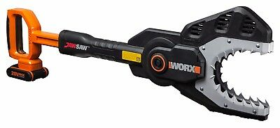 WORX WG329E.5 18V 20V MAX Cordless JAWSAW Safety Chainsaw with 2Ah Battery Pack