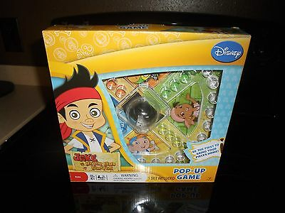 Disney Jake And The Never Land Pirates Pop-Up-Game New In Box!!!!!