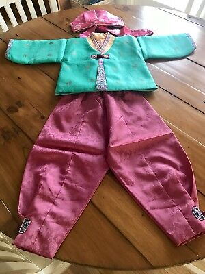 Korean traditional Clothes (Hanbok) For Boy Toddler Ages 1-3 Years