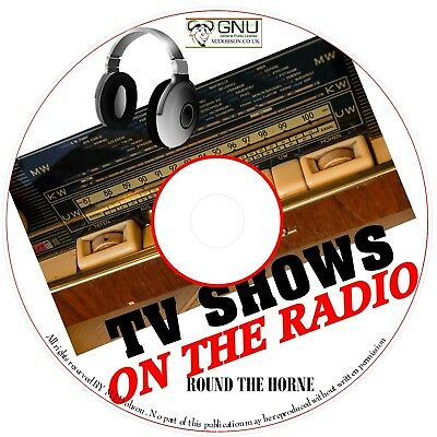 ROUND THE HORNE 70 OLD TIME RADIO SHOWS - Serials Audio Books CD