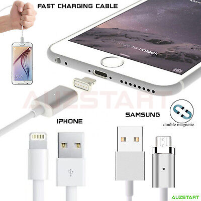 Android iPhone Magnetic Magnet Charger Charging Cable iPhone 7 Samsung S7 edge