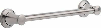 New Delta Transitional Grab Bar 18-Inch Stainless Steel Support Bathrooms Toilet