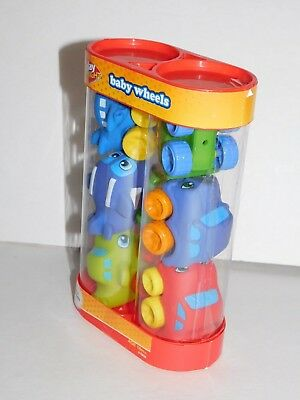 Baby Wheels Infant Toddler Toys 6 Soft Squeezable Cars & Planes