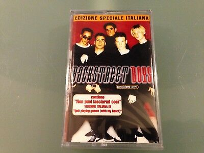 "Backstreet Boys ""backstreet Boys"" Mc K7 Tape Nuova Sigillata New Sealed"