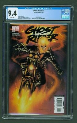 Ghost Rider #1 CGC 9.4 Mark Texeira Richard Isanov Cover Edition 2006