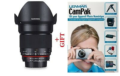 Samyang 16mm f/2.0 ED AS UMC CS for Fuji X + GIFT