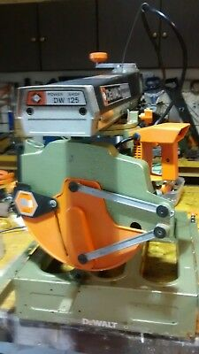 Dewalt 125 radial arm saw...good working condition