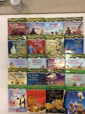 10 Magic Tree House Books for $14.98 and Free Shipping!