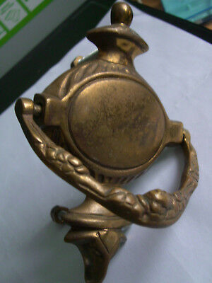 Vintage Ramhead Brass Door Knocker