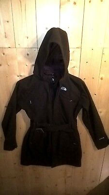 The North Face Apex Damen Softhell Jacke Mantel Gr. M Braun