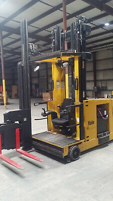 Very Narrow Aisle Yale Man Up Order Picker Turret Truck Forklift NTA030SB +Wire