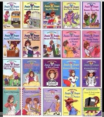 Junie B. Jones Books 10 for $19 Free Shipping!