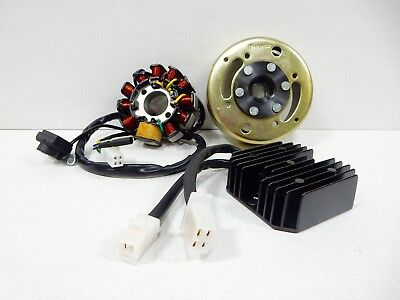 PERFORMANCE STATOR MAGNETO KIT FOR 150cc GY6 SCOOTER 11 COIL FLYWHEEL REGULATOR