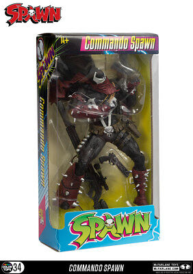 McFarlane Toys Spawn: Commando Spawn 17cm Color Tops Figur