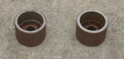 "Pair of Small AccuTurn / Bosch Small Bell Cone Adapter Brake Lathe 1"" 434776 #2"