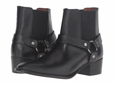 f71f74a019f NEW IN BOX FRYE Womens Dara Harness Chelsea Boots Black Size 7 MSRP $ 228
