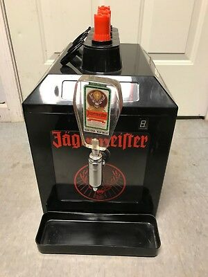Jagermeister Tap 3 Bottle Shot Dispenser, Counter top Machine (Model: Jemus)