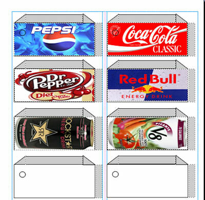 VENDING LABEL DVD - Print your own labels as you need them!