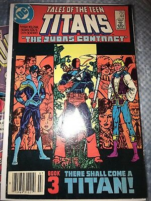Tales of the Teen Titans #44 (1984) VF+/ NM- 1ST APP NIGHTWING 🔥KEY APPEARANCE