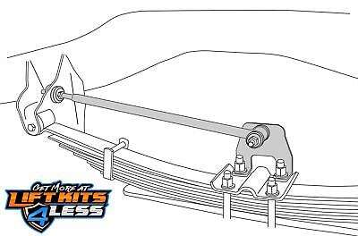 Tuff Country 30997 Rear Traction Bar for 1994-2002 Dodge 1500,Ram 2500/3500 4WD