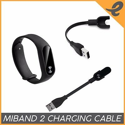 2x Replacement USB Charging Cable Charger Cord For Xiaomi Mi Band 2 Smart Watch