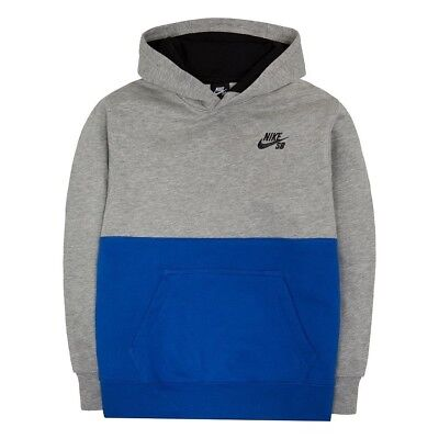 (Small, GRAY) - Boys 8-20 Nike SB Fleece Hoodie. Shipping Included